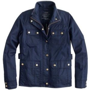 Downtown jcrew field jacket